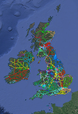 UK Railways Map